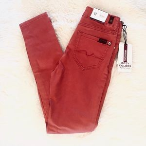 GIRLS size 12 Seven for All Mankind Super Skinny